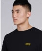 Men's Barbour International Small Logo Relaxed Fit Tee - Black