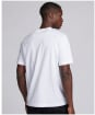 Men's Barbour International Small Logo Relaxed Fit Tee - White