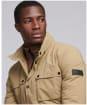 Men's Barbour International Lane Waterproof Jacket - Sand
