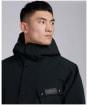 Men's Barbour International Slipstream Shoreditch Waterproof Jacket - Black