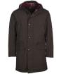Men's Barbour City Parka Jacket - Rustic