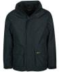 Men's Barbour Hallington Waterproof Jacket - Black