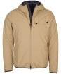 Men's Barbour International Vision Waterproof Jacket - Military Brown