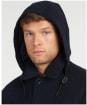 Men's Barbour Nautic Duffle Wool Parka - Navy