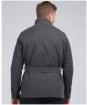 Men's Barbour International Coloured SL International Waxed Jacket - Charcoal