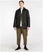 Men's Barbour SL Bedale Waxed Jacket - Black