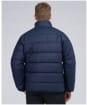 Men's Barbour International Transmission Hoxton Baffle Wax Jacket - Night Sky