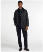 Men's Barbour Bodey Wax Jacket - Navy