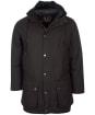 Men's Barbour Hooded Beaufort Wax Jacket - Rustic