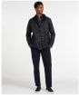 Men's Barbour Commuter Wax Jacket - Navy