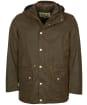 Men's Barbour Ripon Wax Jacket - Olive
