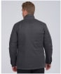 Men's Barbour International 8oz Duke Wax Jacket - Charcoal