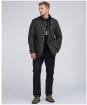 Men's Barbour International 8oz Duke Wax Jacket - Sage