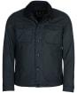 Men's Barbour West Wax Jacket - Navy