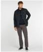 Men's Barbour Field Wax Jacket - Navy