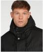 Men's Barbour Nautic Wax Jacket - Black