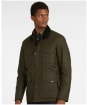 Men's Barbour Fawden Wax Jacket - Archive Olive