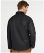 Men's Barbour Rigg Wax Jacket - Navy