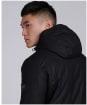 Men's Barbour International Vision Wax Jacket - Black
