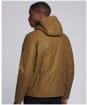 Men's Barbour International Vision Wax Jacket - Sand