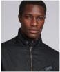 Men's Barbour International Path Wax Jacket - Black