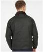 Men's Barbour Dom Waxed Jacket - Sage