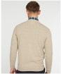 Men's Barbour Essential Lambswool V Neck Sweater - BISCUIT MARL