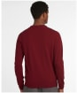 Men's Barbour Coldwater Crew Sweater - WINTER RED