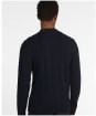 Men's Barbour Essential Cable Knit - Navy Marl