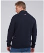 Men's Barbour International Chase Cable Knit Sweater - Navy