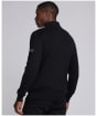 Men's Barbour International Slipstream Quilted Knit - Black