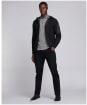 Men's Barbour International Swift Knit Hoodie - Black