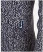 Men's Barbour Sid Half Zip Knit - Navy Marl