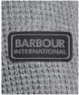 Men's Barbour International Transmission Crew Knit - Anthracite Marl