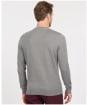 Men's Barbour Essential Cotton Cashmere Crew - Grey Marl