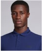 Men's Barbour International Essential Tipped Polo Shirt - Regal Blue