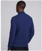 Men's Barbour International Honeycomb Pique L/S Polo Shirt - Regal Blue