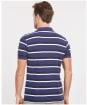 Men's Barbour Essential Winter Stripe Polo Shirt - Regal Blue