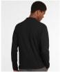 Men's Barbour Camden L/S Henley Top - Black