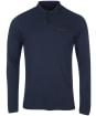 Men's Barbour Essential L/S Pocket Polo Shirt - Navy