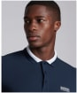 Men's Barbour International Event Bold Tipped Polo Shirt - Navy