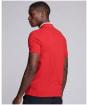 Men's Barbour International Event Bold Tipped Polo Shirt - Salsa