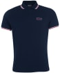Men's Barbour International Event Multi Tipped Polo Shirt - Navy