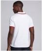 Men's Barbour International Event Multi Tipped Polo Shirt - White