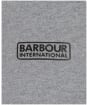 Men's Barbour International Axle Long Sleeve Polo Shirt - Anthracite Marl