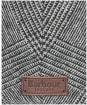 Men's Barbour Wilkin Flat Cap - Charcoal Check