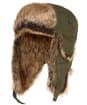 Men's Barbour Cleadon Trapper Hat - Dark Olive