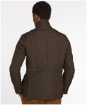 Men's Barbour Lutz Quilted Jacket - Olive