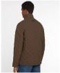Men's Barbour Shoveler Quilted Jacket - Dark Olive