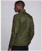 Men's Barbour International Ariel Polarquilt Jacket - Olive